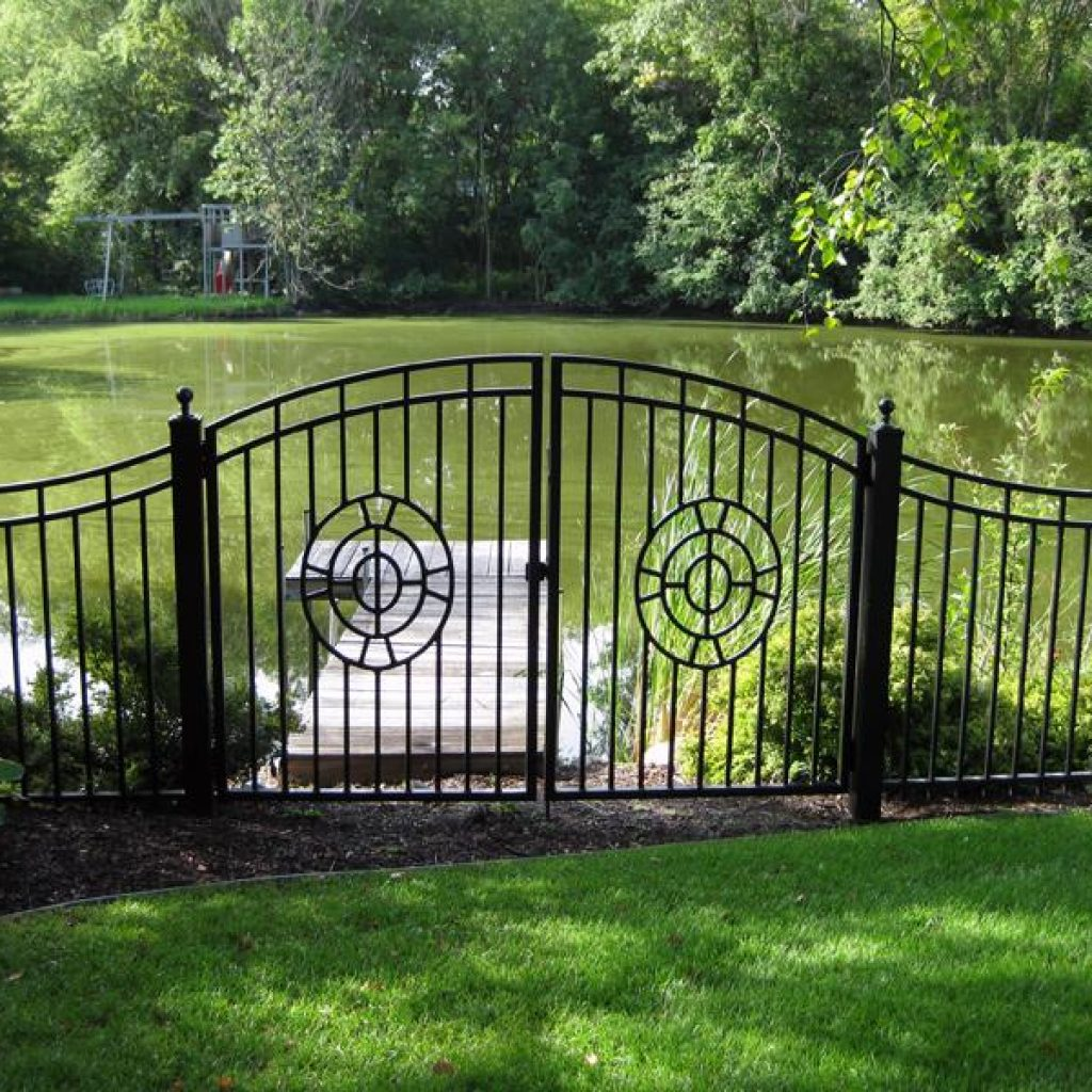 Custom Designed Gate Manufacturers: Fence Installation In St Paul