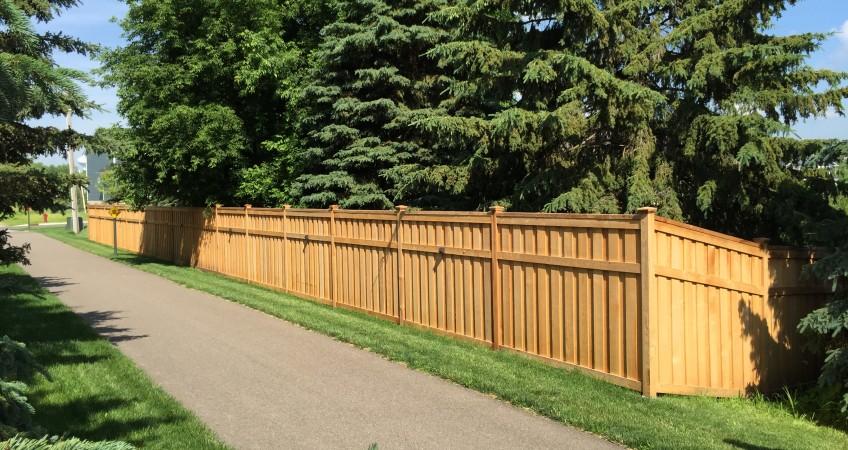 Lincoln Shadowbox Fence Designs Dakota Unlimited