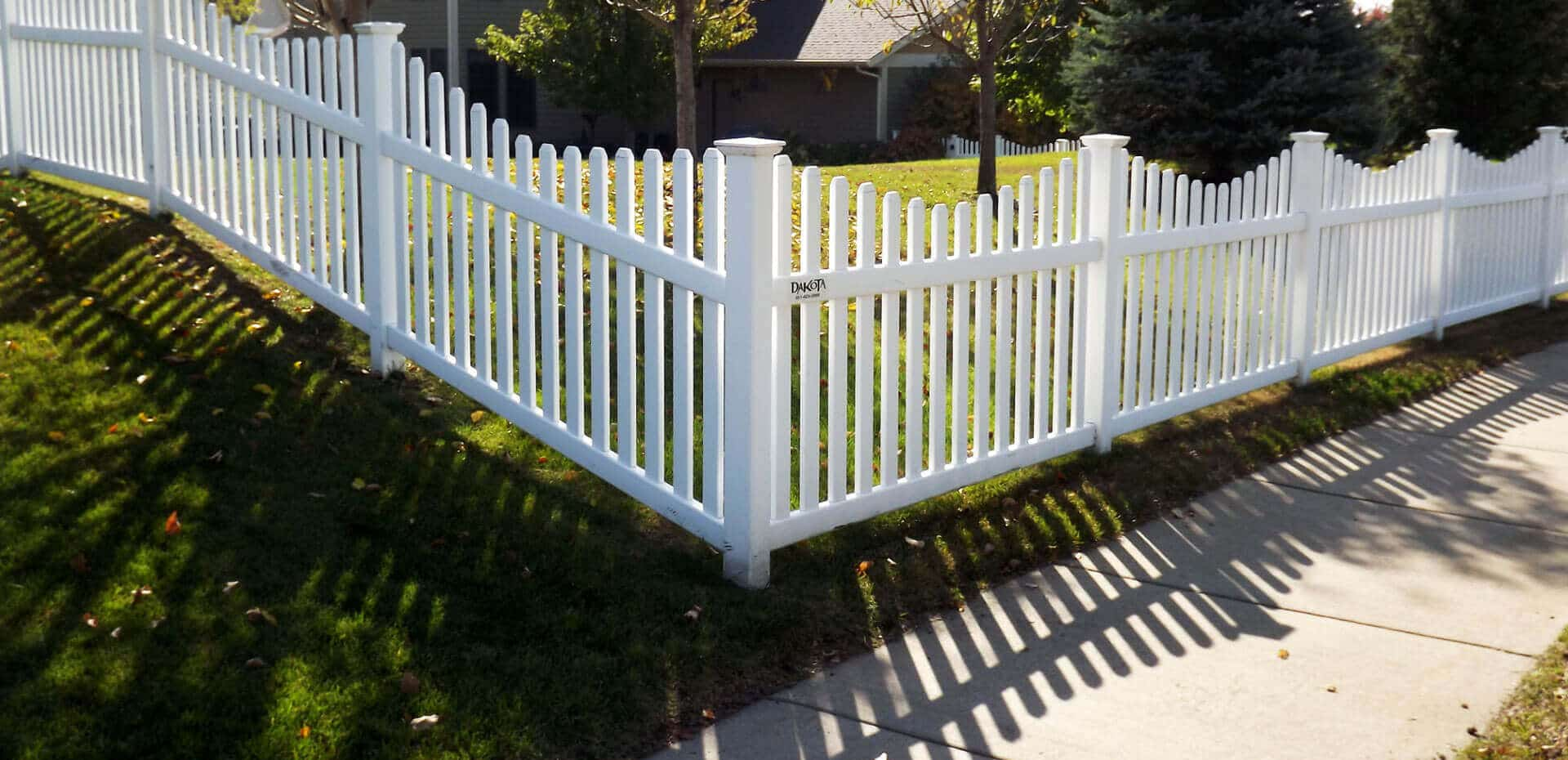 Vinyl Picket Fence In St Paul Lakeville Twin Cities