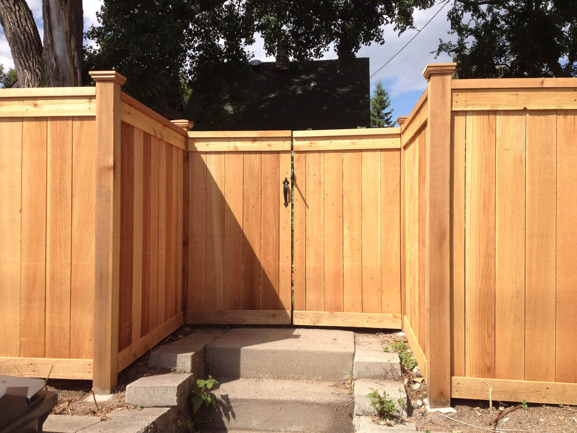 Wood Fence In St Paul Lakeville Twin Cities Woodbury